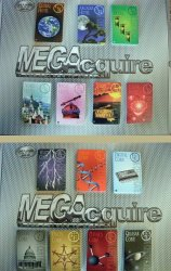 Full Set (350) Stock Certificates for MEGAcquire