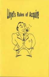 Lloyd's Rules of ACQUIRE - Printable PDF or PowerPoint File