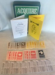 ACQUIRE 1963 World Map Conversion Kit fits 1962 through 1995 Editions of ACQUIRE