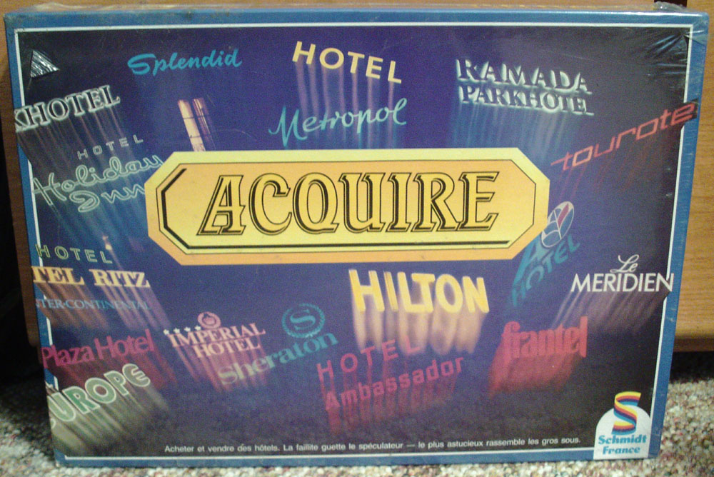 Schmidt France French Edition of ACQUIRE