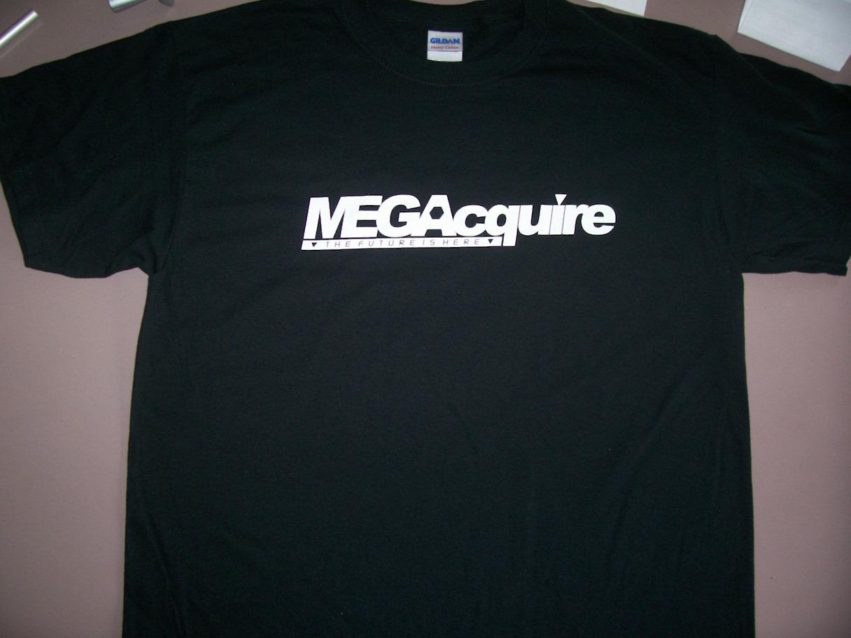 Black MEGAcquire T-Shirt