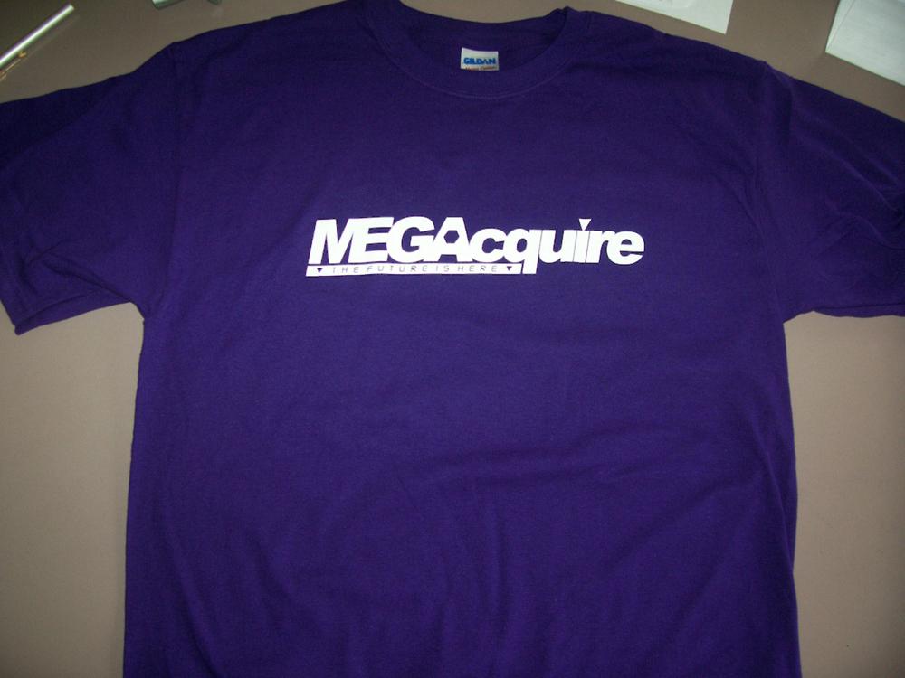 Purple MEGAcquire T-Shirt