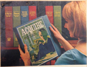 1963 ACQUIRE Promotional Ad